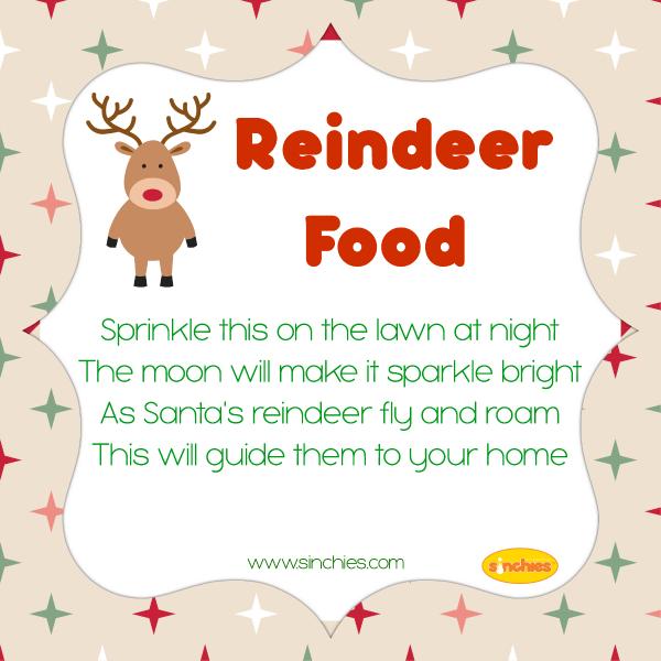 reindeer-food-poem