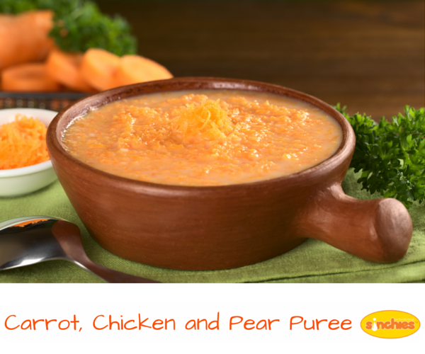Want Some Thermomix Storage Ideas? Sinchies Carrot Chicken and Pear Puree
