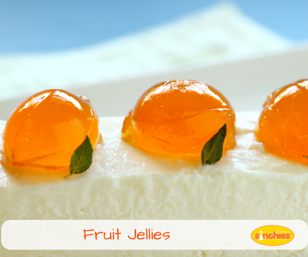Fruit Jellies or homemade fruit lollies