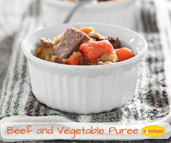 Beef and Vege Puree Baby food
