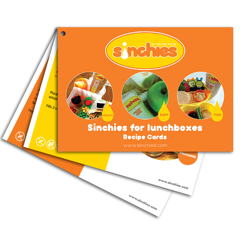 Sinchies Recipe Cards - Sinchies for Lunchboxes