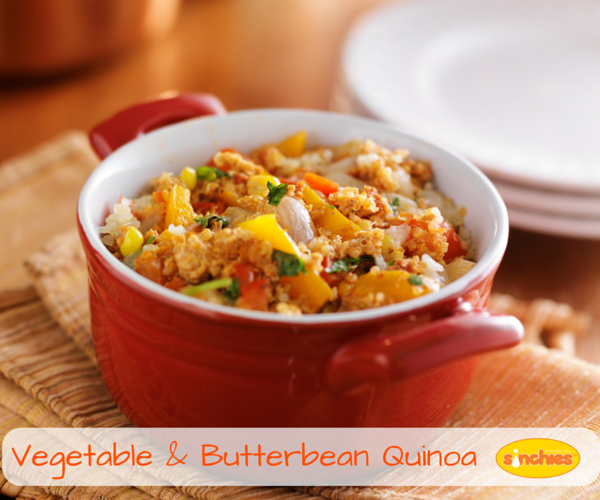 Vegetable and butterbean quinoa recipe sinchies vegetable butterbean quinoa baby food forumfinder Choice Image