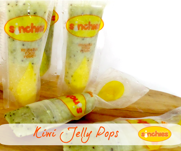 Want Some Thermomix Storage Ideas? Sinchies Kiwi Jelly Pops