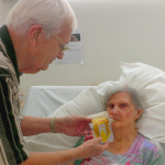 How To Feed An Elderly Person With A Reusable Food Pouch