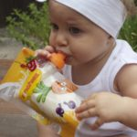 baby food ideas yoghurt squeezy pouch