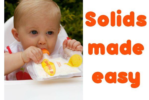 introducing solid food made easy sinchies