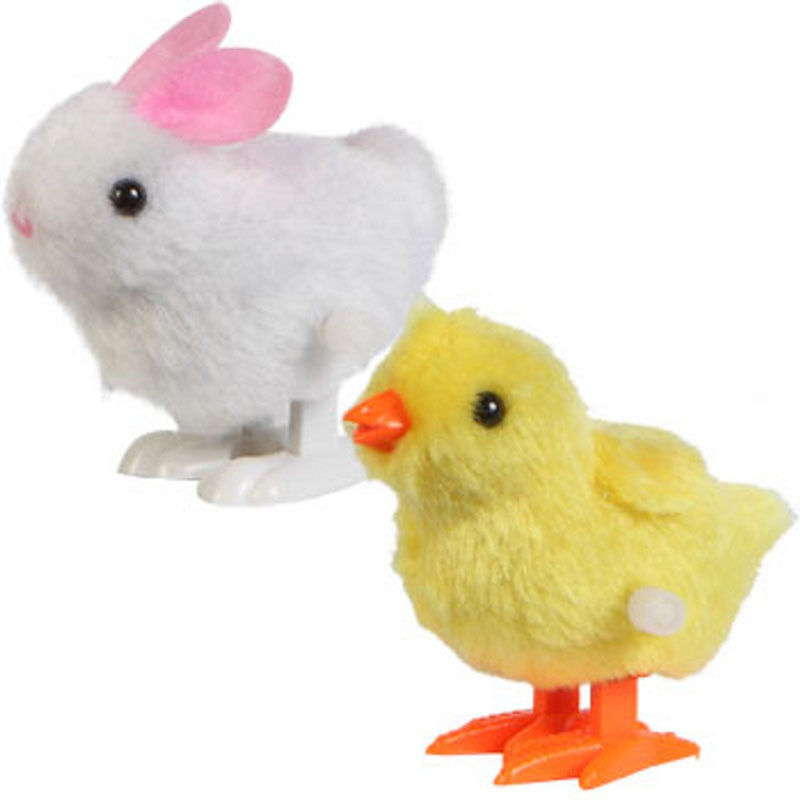 wind up chickens rabbits